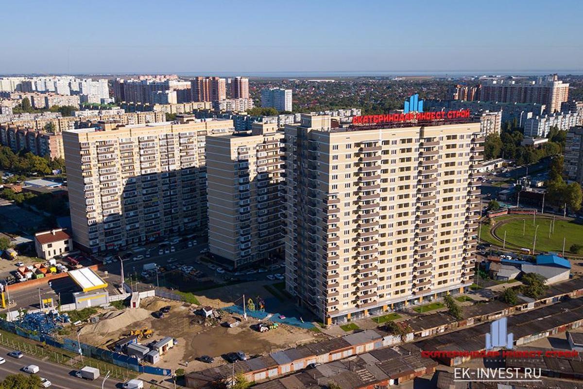 ЖК «Комсомольский-3» поставлен на кадастровый учет